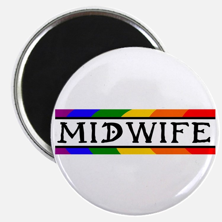 Rainbow Midwife Magnet