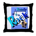 Ready To Rock Throw Pillow