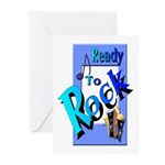 Ready To Rock Greeting Cards (Pk of 10)