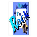 Ready To Rock Postcards (Package of 8)