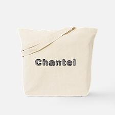 Chantel Wolf Tote Bag