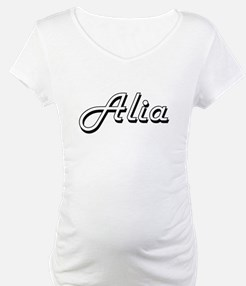Alia Classic Retro Name Design Shirt