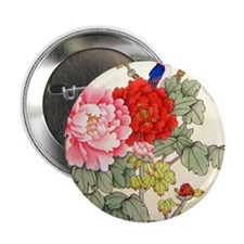 Chinese Water Color Painting Button