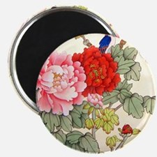 """Chinese Water Color Painting 2.25"""" Magnet (10 pac"""