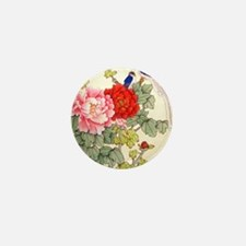 Chinese Water Color Painting Mini Button