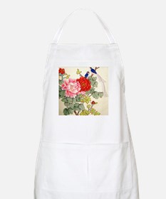 Chinese Water Color Painting BBQ Apron