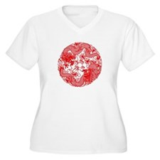 Chinese Twin Dragons Symbol T-Shirt