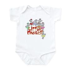 Hippo Little Dancer Infant Bodysuit