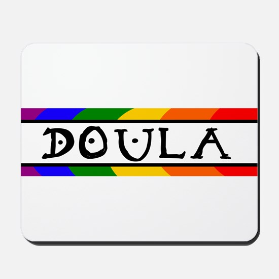 Doula Rainbow Mousepad