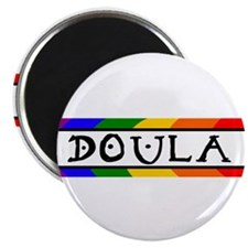 """Doula Rainbow 2.25"""" Magnet (100 pack)"""