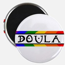 """Doula Rainbow 2.25"""" Magnet (10 pack)"""