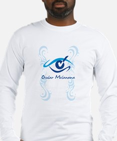 womens eye check Long Sleeve T-Shirt