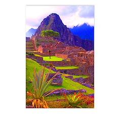Machu Piccu Postcards (Package of 8)
