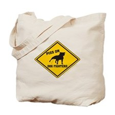 Piss On Animal Abusers Tote Bag