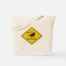 Piss On Animal Abusers Tote Bag
