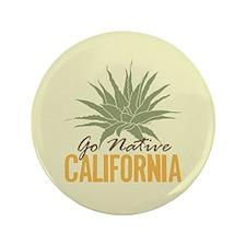 Go Native California Button