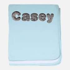Casey Wolf baby blanket