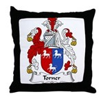 Torner Family Crest Throw Pillow