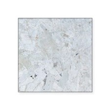 """Shattered Mica Glass Square Sticker 3"""" x 3"""""""