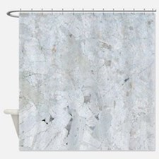 Shattered Mica Glass Shower Curtain
