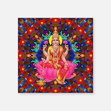 "Daily Focus Mandala 4.2.15  Square Sticker 3"" x 3"""