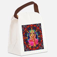 Daily Focus Mandala 4.2.15 Lakshm Canvas Lunch Bag