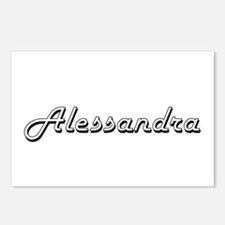Alessandra Classic Retro Postcards (Package of 8)