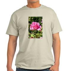 Rose Photo #5066 Ash Grey T-Shirt