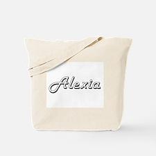 Alexia Classic Retro Name Design Tote Bag