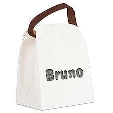 Bruno Wolf Canvas Lunch Bag