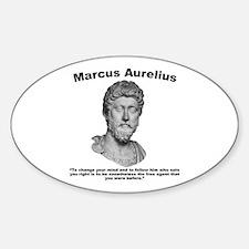 Aurelius: Free Will Sticker (Oval)