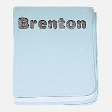 Brenton Wolf baby blanket