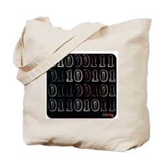 Binary Code Geek Tote Bag