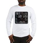 Binary Code Geek Long Sleeve T-Shirt