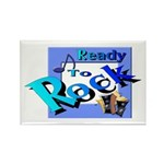 Ready To Rock Rectangle Magnet (10 pack)
