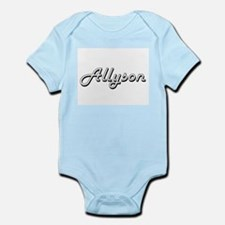 Allyson Classic Retro Name Design Body Suit