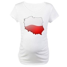 """Poland Bubble Map"" Shirt"