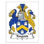 Toogood Family Crest Small Poster