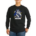 Tonge Family Crest Long Sleeve Dark T-Shirt