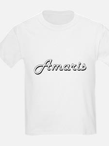 Amaris Classic Retro Name Design T-Shirt
