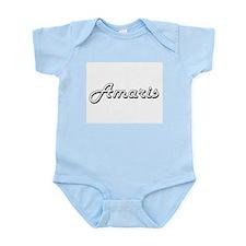 Amaris Classic Retro Name Design Body Suit