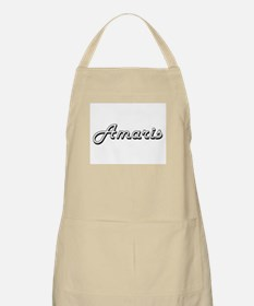 Amaris Classic Retro Name Design Apron