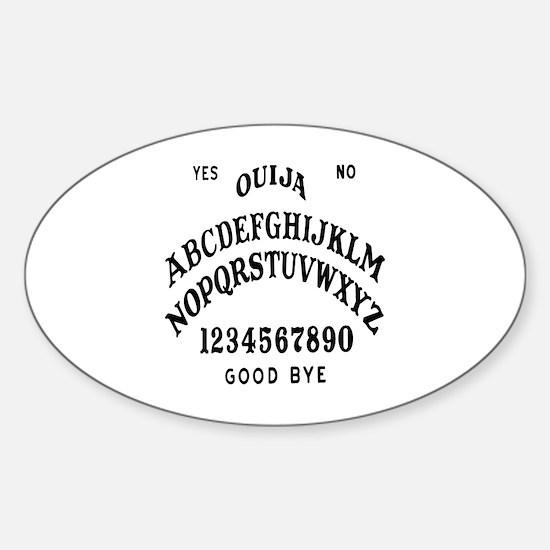 Talking Board Sticker (Oval)