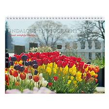 Simply Tulips Wall Calendar