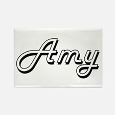Amy Classic Retro Name Design Magnets