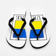 Ukraine Flip Flops