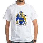 Tompson Family Crest White T-Shirt