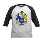 Tompson Family Crest Kids Baseball Jersey