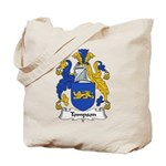 Tompson Family Crest Tote Bag