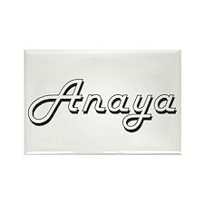 Anaya Classic Retro Name Design Magnets